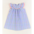 Funtasia, Too Blue Plaid Bishop Dress