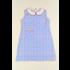 Funtasia, Too Blue Plaid Dress w/Collar & Pocket