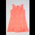 Maggie Breen Flower Damask Flounce Aline Dress