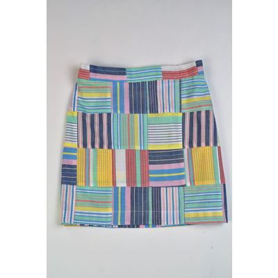 Maggie Breen Patchwork Top and Skirt Set