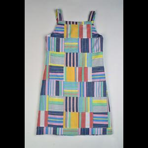 Maggie Breen Patchwork Strap Dress