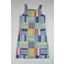 Maggie Breen Patchwork Strap Dress