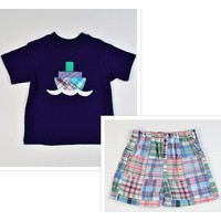Funtasia, Too Patchwork Tugboat Short Set