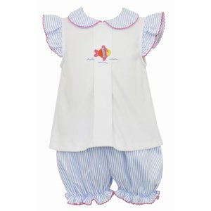 Petit Bebe Fish Bloomer Set