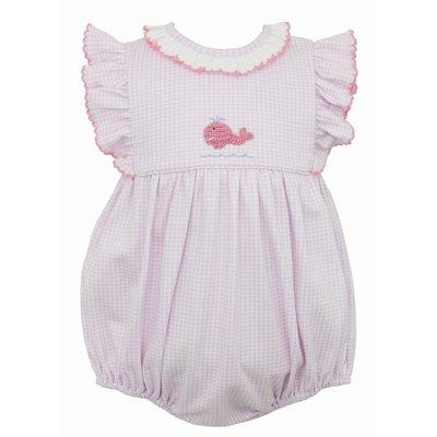 Petit Bebe Whale Girl Knit Bubble