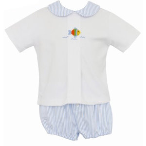 Petit Bebe Fish Diaper Set
