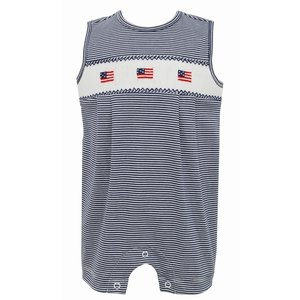 Petit Bebe Flags Knit Jon Jon