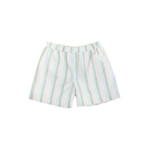 Beaufort Bonnet Company Shelton Shorts - Broadcloth Rainbow Row Stripe/Buckhead Blue