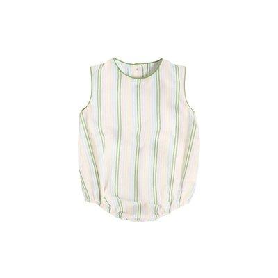 Beaufort Bonnet Company Rainbow Row Stripe & Grenada Green Benjamin Bubble