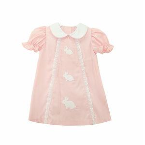 Zuccini Embroidered Bunny Jane Dress