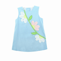 Zuccini Applique Daisy Sloane Dress