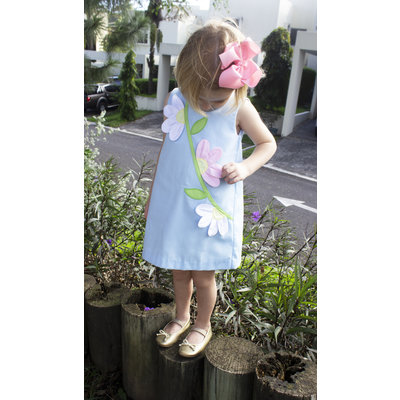 Zuccini Applique Daisy Sloane Dress