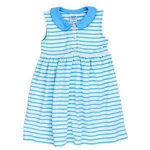 Bailey Boys Blue/White Stripe Knit Sundress