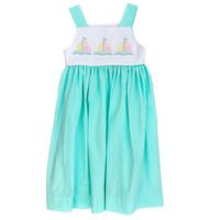 Bailey Boys Sailboat Shadow Sundress