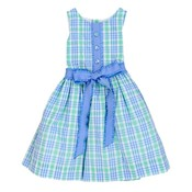 Bailey Boys Watercolor Plaid Dress