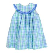 Bailey Boys Watercolor Plaid Float Dress