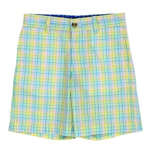 J Bailey Preppy Plaid Seersucker Short