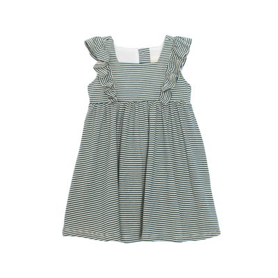 Mabel & Honey Blue Stripe Knit Dress