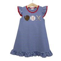 Trotter Street Kids Baseball Knit Dress