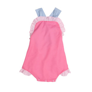 The Oaks Apparel Rory Pink Color Block Bubble