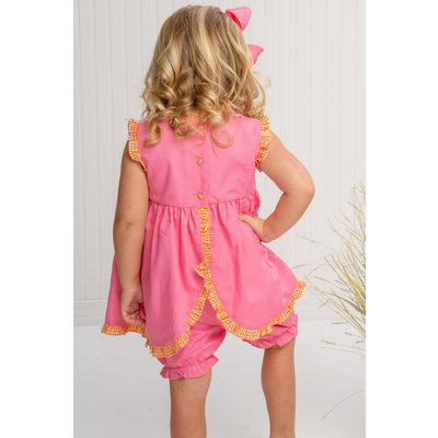 The Oaks Apparel Reagan Fuchsia Bloomer Set