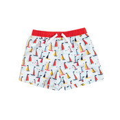 The Oaks Apparel Boy Sailboats Swimtrunks
