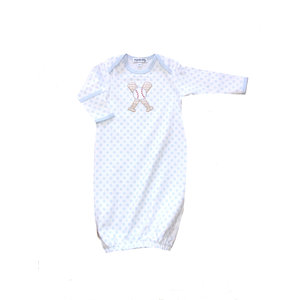 Magnolia Baby Grand Slam Applique Lap Gown