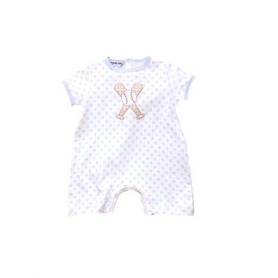 Magnolia Baby Grand Slam Applique Short Playsuit