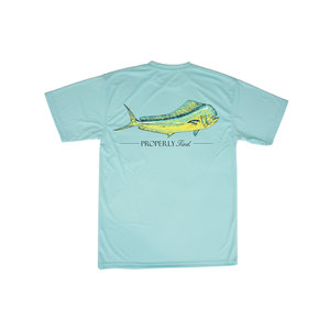 Properly Tied Seafoam Mahi SS Tee