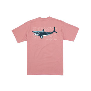 Properly Tied Salmon Topo Shark SS Tee