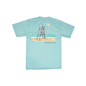 Properly Tied Seafoam Lifeguards Stand SS Tee