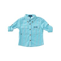 Prodoh Aquarius Windowpane Vented Back Fishing Shirt