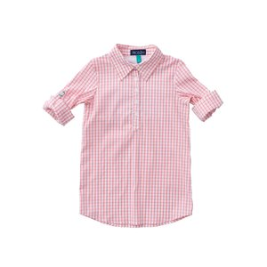 Prodoh Salmon Rose Girl's Fishing Shirt Dress