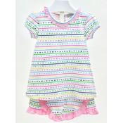 Ishtex Textile Products, Inc Hearts Short Set