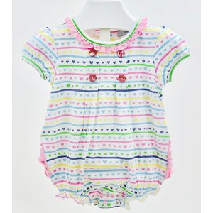 Ishtex Textile Products, Inc Hearts Romper