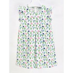 Ishtex Textile Products, Inc Meadows Flower A-line Dress