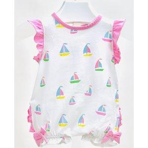 Ishtex Textile Products, Inc Sailboats Bubble