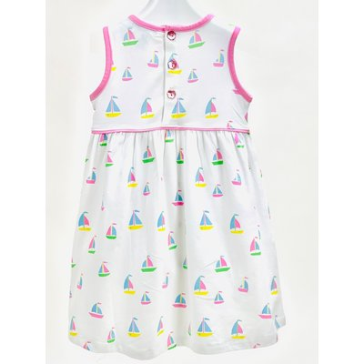 Ishtex Textile Products, Inc Sailboat Empire Dress