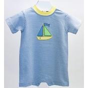 Ishtex Textile Products, Inc Sailboat Applique Romper