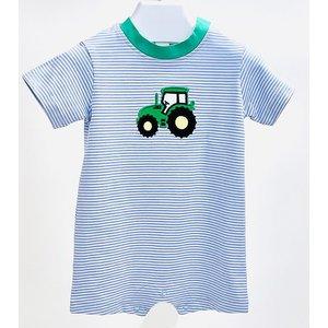 Ishtex Textile Products, Inc Tractor Applique Romper