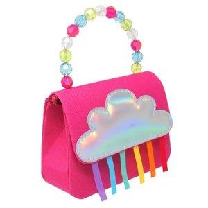 Pink Poppy USA Rainbow Magic Hot Pink Hard Handbag