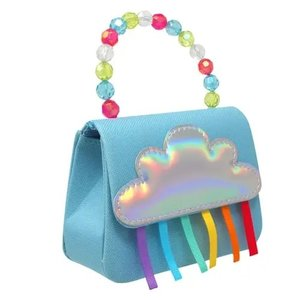 Pink Poppy USA Rainbow Magic Blue Hard Handbag
