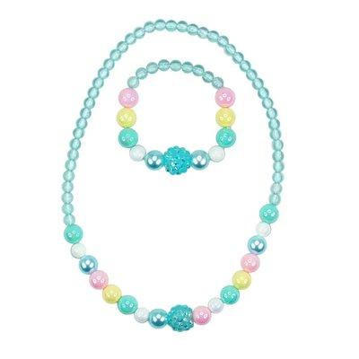 Pink Poppy USA Pastel Dream Necklace/Bracelet Set