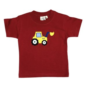 Luigi Red Front Loader T'shirt