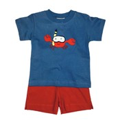 Luigi Snorkeling Crab w/Red Knit Shorts