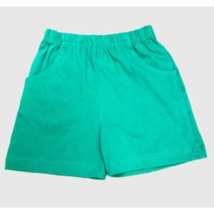 Luigi Green Jersey Shorts w/Front Pockets
