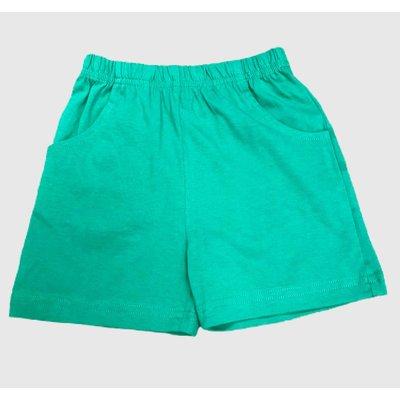 Luigi Green Jersey Shorts w/Front Pockets