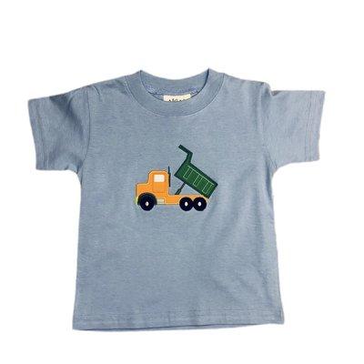 Luigi Sky Blue Dump Truck T'shirt