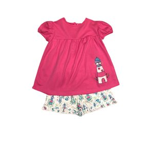 Luigi Lighthouse Ruffle Short Set