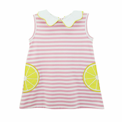 Zuccini Lemon Applique Blythe Dress